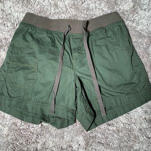 Faded Glory Olive Green Cargo Shorts